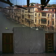 Camera Obscura: View of the Grand Canal Looking Northeast From Room in Ca' Foscari. Venice, Italy, 2008