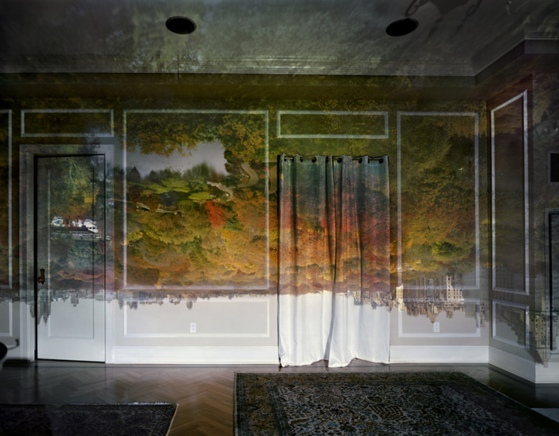 Camera Obscura: View of Central Park Looking  North-Fall, 2008