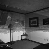 Camera Obscura Image of the Grand Tetons in Resort Room, 1997