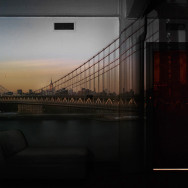 Camera Obscura: View of the Manhattan Bridge-April 30th / Evening, 2010