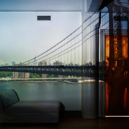 Camera Obscura: View of the Manhattan Bridge-April 30th / Morning, 2010