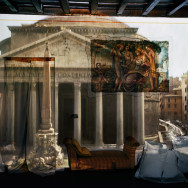 Camera Obscura: The Pantheon in Hotel Albergo Del Sole al  Pantheon, Room # 111, Rome, Italy, 2008