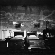 Camera Obscura Image of Tuscan Landscape in Large Bedroom, 2000