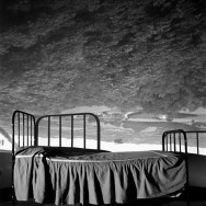 Camera Obscura Image of Umbrian Landscape Over Bed, 2000